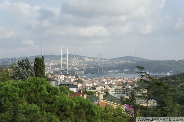 Bosporus-Brücke in Istanbul, Türkei