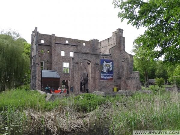 ifjúsági klub Walhalla a nagy kastély Deurne, Hollandia