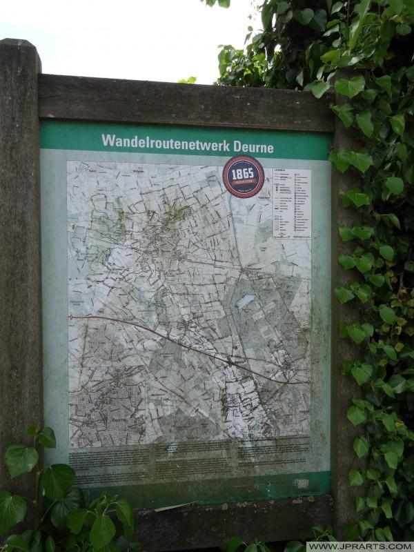 Wanderstreckennetz Deurne, Niederlande
