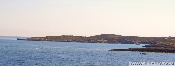 Comino vu de Gozo
