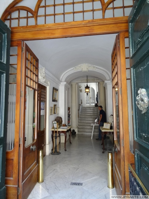 Entrée Casa Rocca Piccola (La Valette, Malte)
