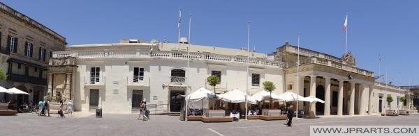 主力后卫大厦圣乔治广场(马耳他瓦莱塔)