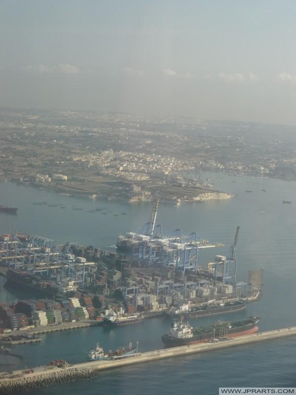 马耳他自由港码头