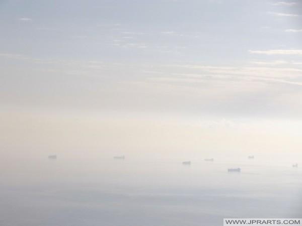 Schiffe vor der maltesischen Küsten