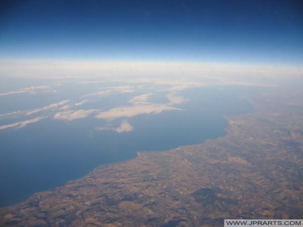 Sicily and Mediterranean Sea