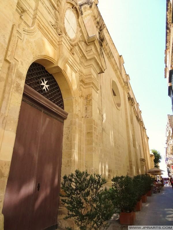 Сторона Святого Іоанна в собор у Валлетті, Мальта