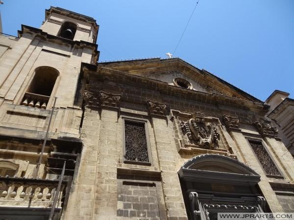 San Francisco de Asís Iglesia en Valletta, Malta