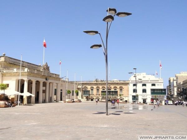 St George's square (Valletta, Malta)