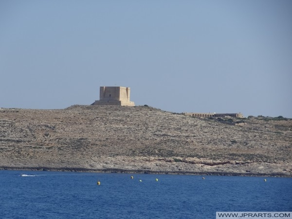 It-Torri ta' Santa Marija on Comino (Malta)