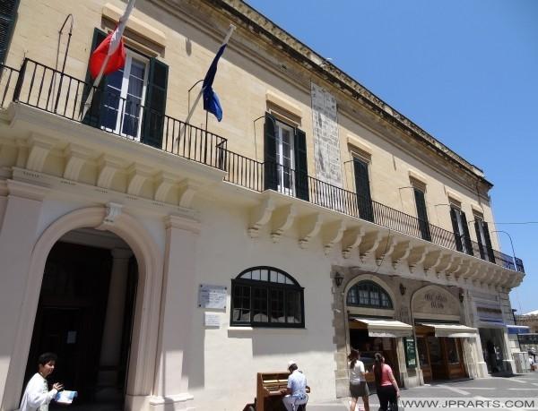 Byggnad där Samuel Taylor Coleridge arbetade (Valletta, Malta)