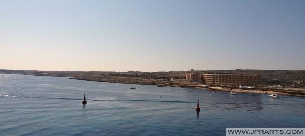 Kust i Cirkewwa, Malta