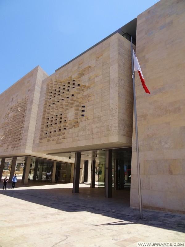 مبنى البرلمان في فاليتا، مالطا