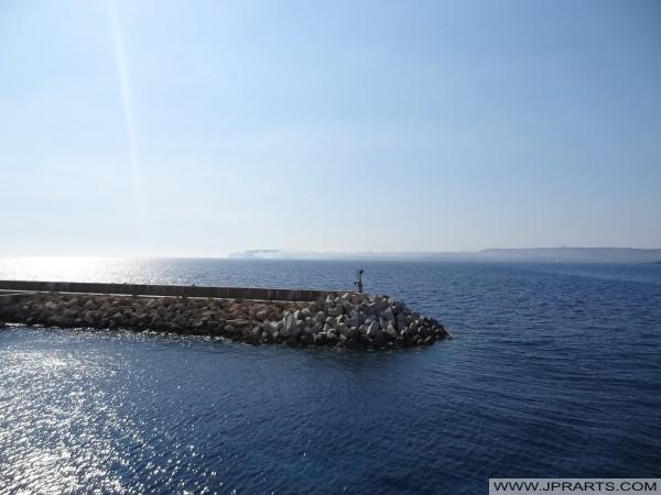 Molo di Pietra a Cirkewwa, Malta