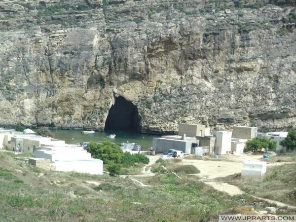 Mar Interior en Dwejra Bay (Gozo, Malta)