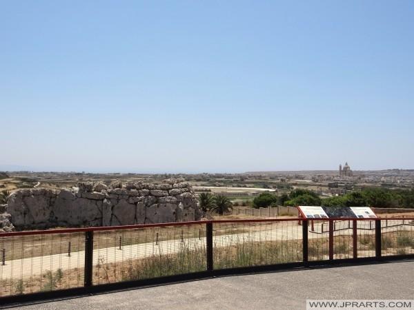 Ggantija Świątynie i św Jana Chrzciciela (Gozo, Malta)