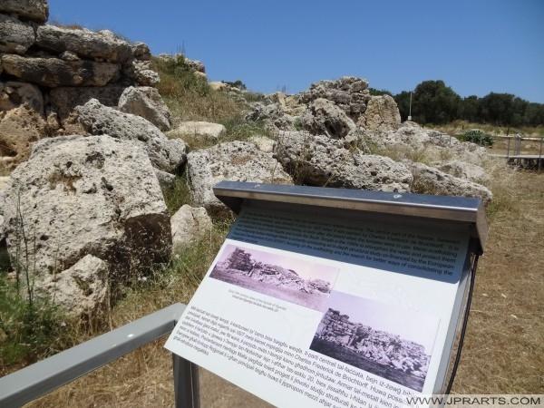 Ggantija templos en Gozo, Malta - La estructura libre más antiguo de pie en el mundo