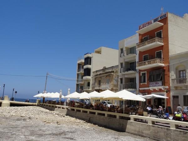 Pensionatet Electra i Marsalforn (Gozo, Malta)