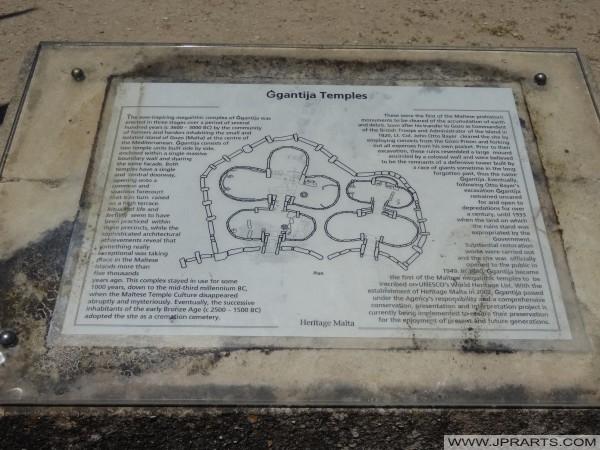 Informazioni sui templi di Ggantija (Gozo, Malta)