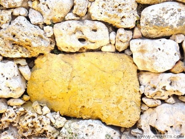 Камни храма Гжантии (Гозо, Мальта)