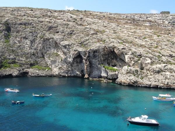 Tekintettel Xlendi bay, Gozo, Málta
