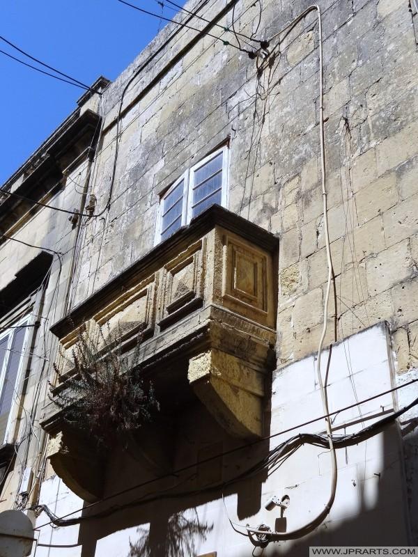 Balcon à Victoria (Gozo, Malte)