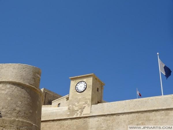 Башта з годинником Читаделла у Вікторії (Гозо, Мальта)