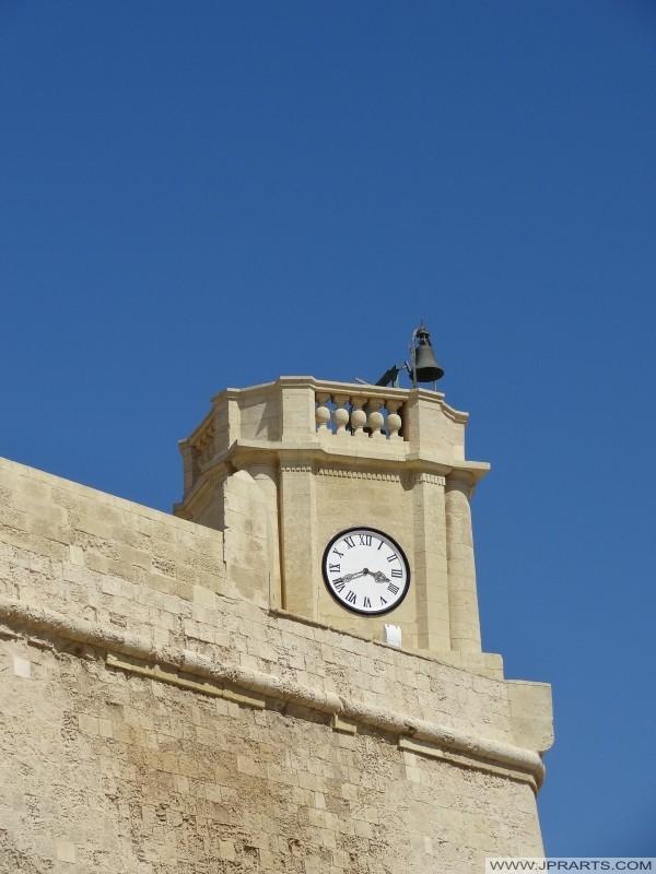 Fortificada ciudadela de Victoria (conocido como Rabat por los lugareños), Isla de Gozo, Malta