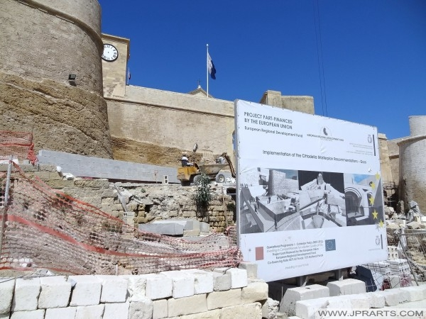 Genomförandet av Cittadella generalplan Rekommendationer - Gozo (Victoria, Malta)
