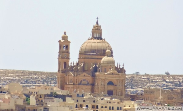 Rotunda Church in Gozo, Malta