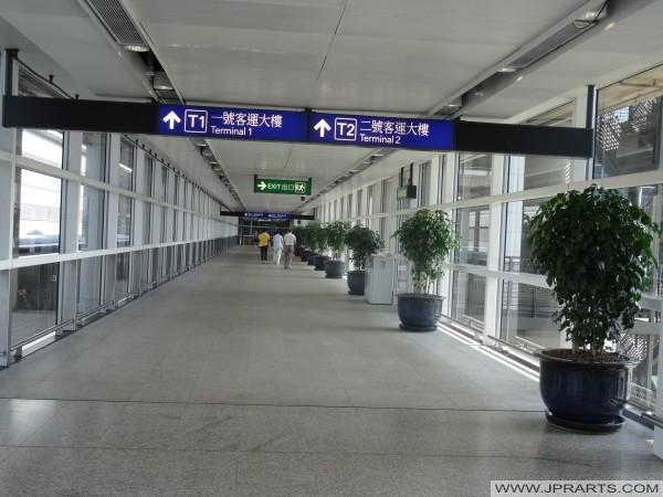 Arah Terminal 1 dan Terminal 2, Bandara Internasional Hong Kong