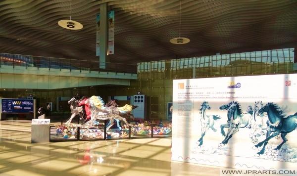 小馬奔騰展2015年在香港機場