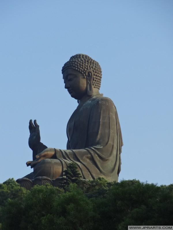 Bronzo Statua del grande Budda di Ngong Ping, Hong Kong