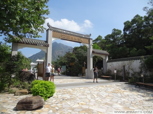 Pintu Ngong Ping Village, Hong Kong