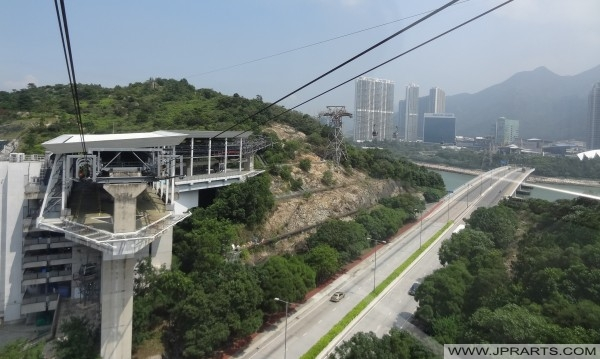 The Airport Island Cable Car Angle Station, Hong Kong