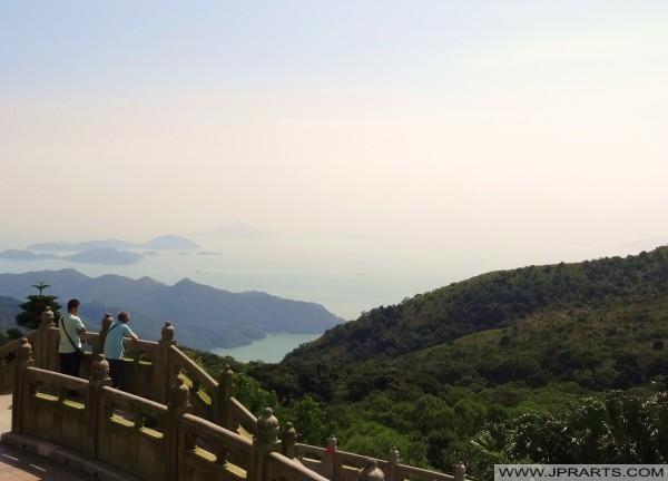 Pemandangan indah di Pulau Lantau, Hong Kong
