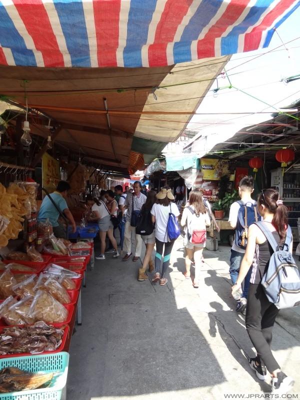 鱼卖家在大澳,香港