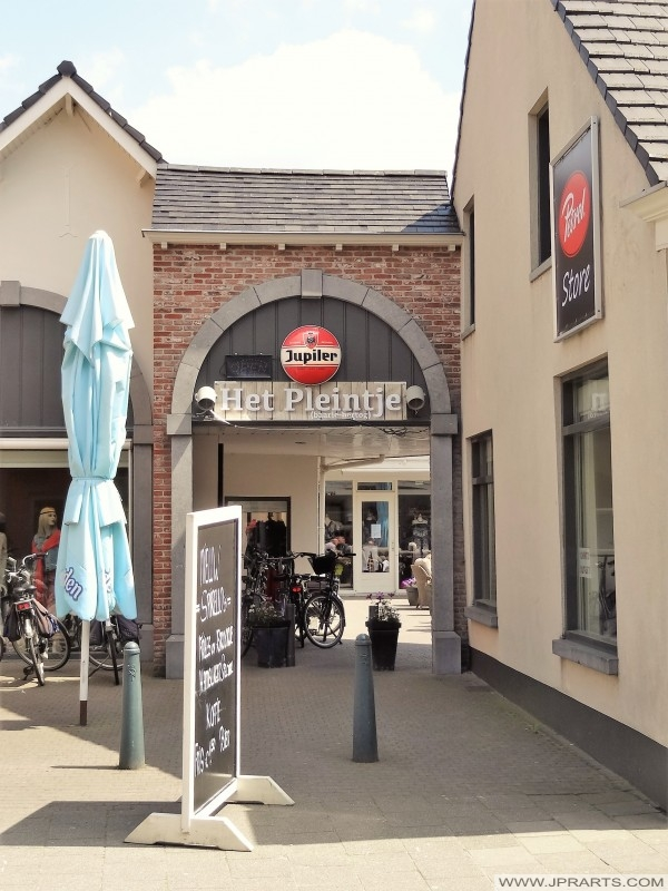 Eetcafe Het Pleintje in Baarle-Hertog, België