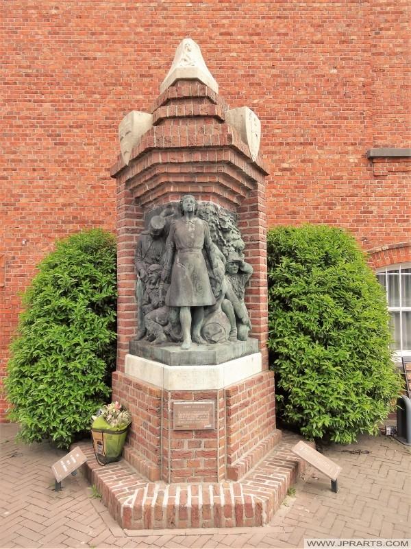 Monumento fusillade a Baarle (Belgio - Paesi Bassi)