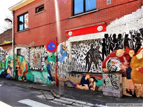 Graffiti Kunst (Doel, Belgium)