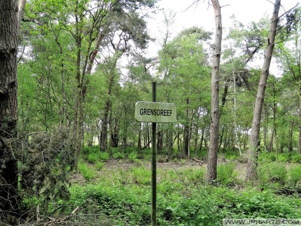 Grensdreef - Granica między Belgią i Holandii