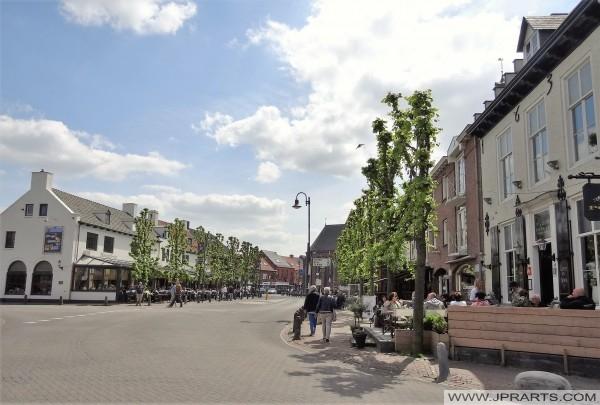 Tarasy w Baarle-Nassau, Holandia