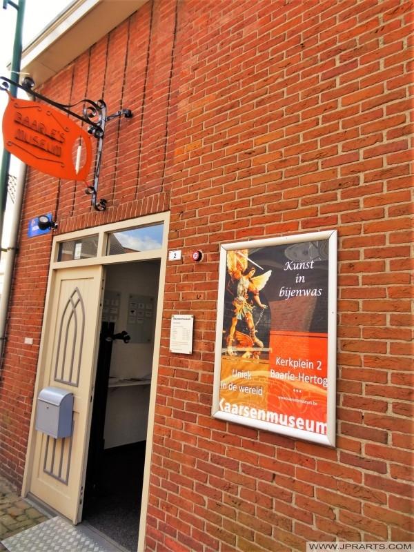 Bougies musée (Musée de Baarle) à la frontière entre la Belgique et les Pays-Bas
