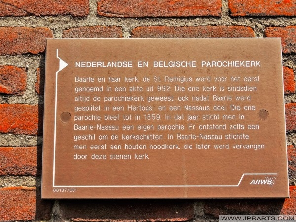 Olandese e belga Parrocchiale Chiesa in Baarle