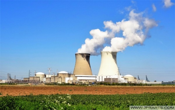 Kerncentrale in Doel, België