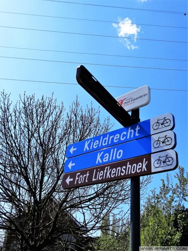 Piste Cyclable en Flandre Orientale