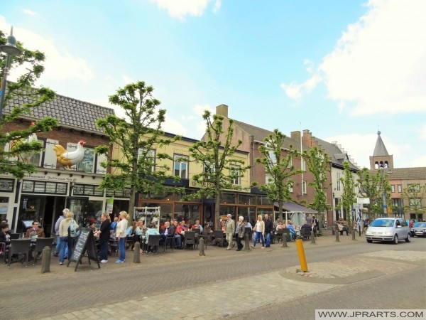 Restaurant Juffrouw Tok en de Pannekoekenbakker in Baarle-Nassau-Grens, Nederland
