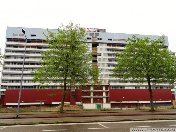 Sloop van het Clara Ziekenhuis in Rotterdam, Nederland (2016)