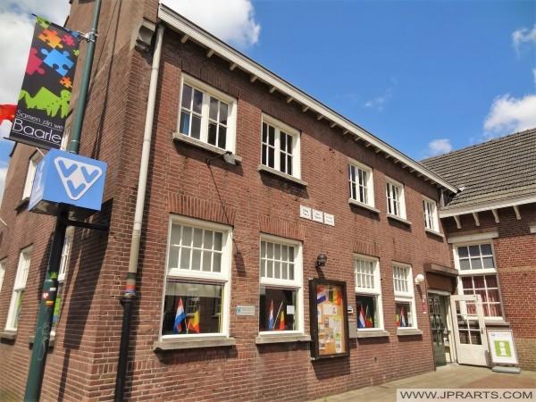Tourismusbüro in Baarle-Nassau-Hertog (Belgien - Niederlande)