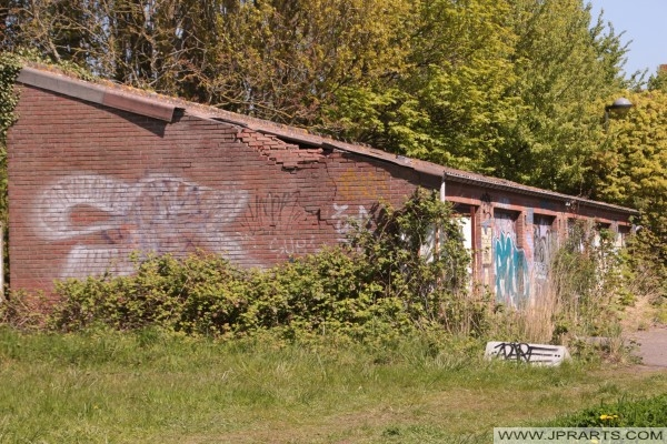 заброшенные гаражи в Дуль, Бельгия