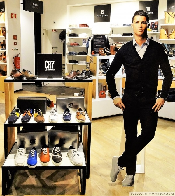 CR7 Shoes (Madeira Airport 2016)